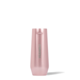 CORKCICLE STEMLESS FLUTE 7OZ ROSE METALLIC