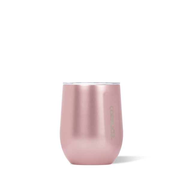 CORKCICLE STEMLESS 12OZ ROSE METALLIC