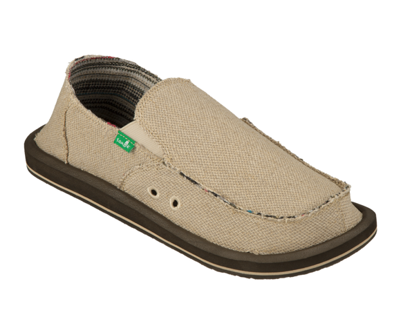 SANUK HEMP SIDEWALK SURFER