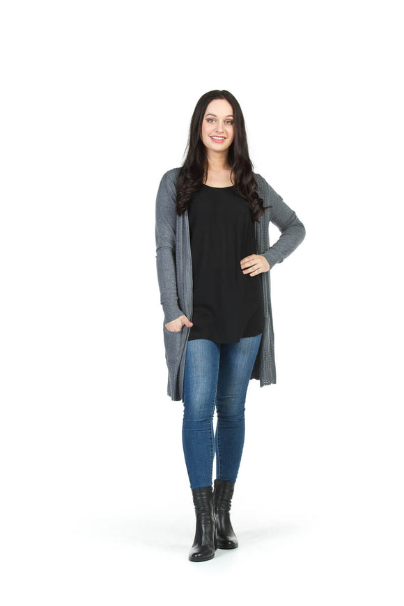PAPILLON SOFT TEXTURED CARDIGAN