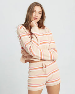 L*SPACE SUN SEEKER SWEATER SUNSEEKER STRIPE