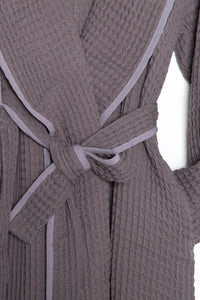 TOFINO TOWEL THE HARMONY BATH ROBE MIST GREY
