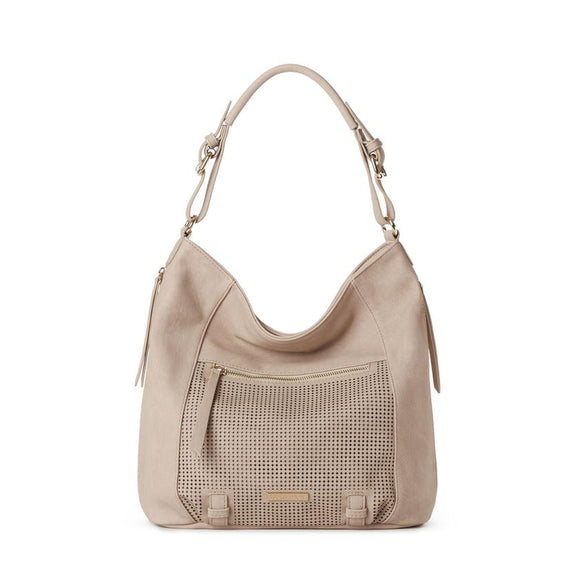 JEANE & JAX VALERIE PERFORATED HOBO