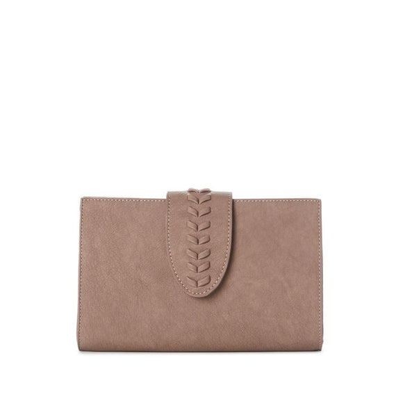 JEANE & JAX CLUTCH W/ BRAID