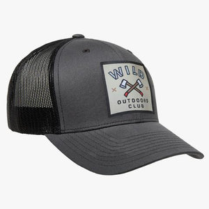WILD OUTDOORS AXES VINTAGE SNAPBACK