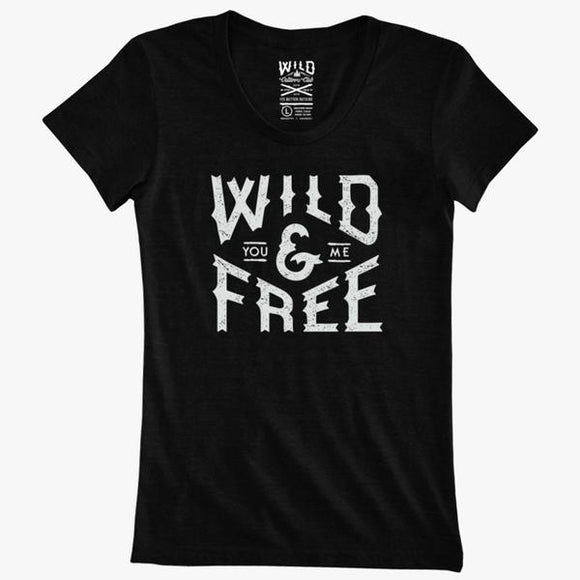 WILD OUTDOORS WILD & FREE TEE W