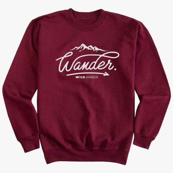 WILD OUTDOORS WANDER CREW FLEECE