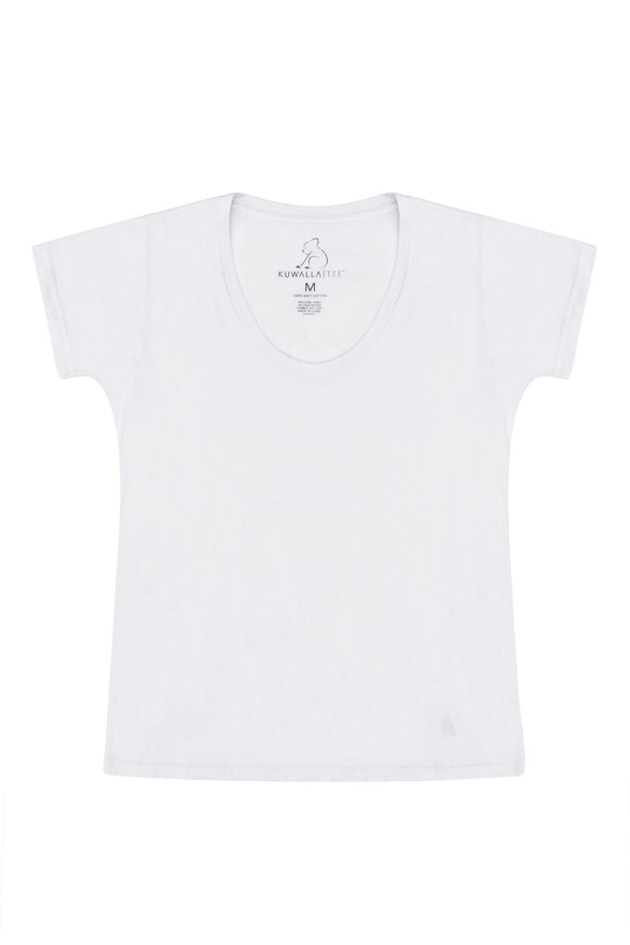 KUWALLA TEE WOMEN'S SCOOP TEE