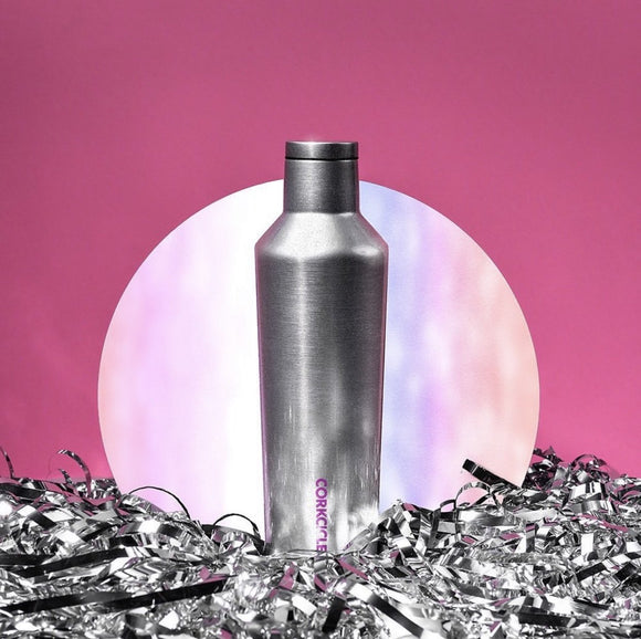 CORKCICLE CANTEEN 25OZ SPARKLE UNICORN MOONDANCE