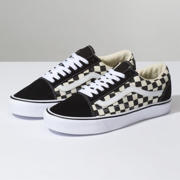 VANS OLD SCHOOL LITE CHECKERBOARD
