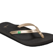 SANUK YOGA JOY METALLIC SANDAL
