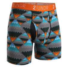 "2UNDR SWING SHIFT PRINTS 6"" BOXER BRIEF"