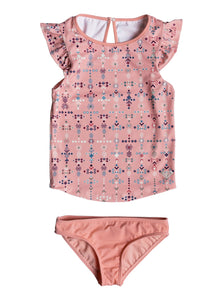 ROXY GIRLS 2-6 BOHO TANKINI SET