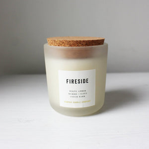 CANVAS CANDLE CO. SIGNATURE FIRESIDE CANDLE