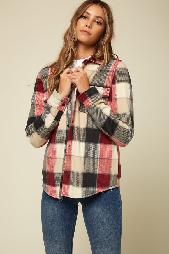 O'NEILL ZUMA SUPERFLEECE FLANNEL