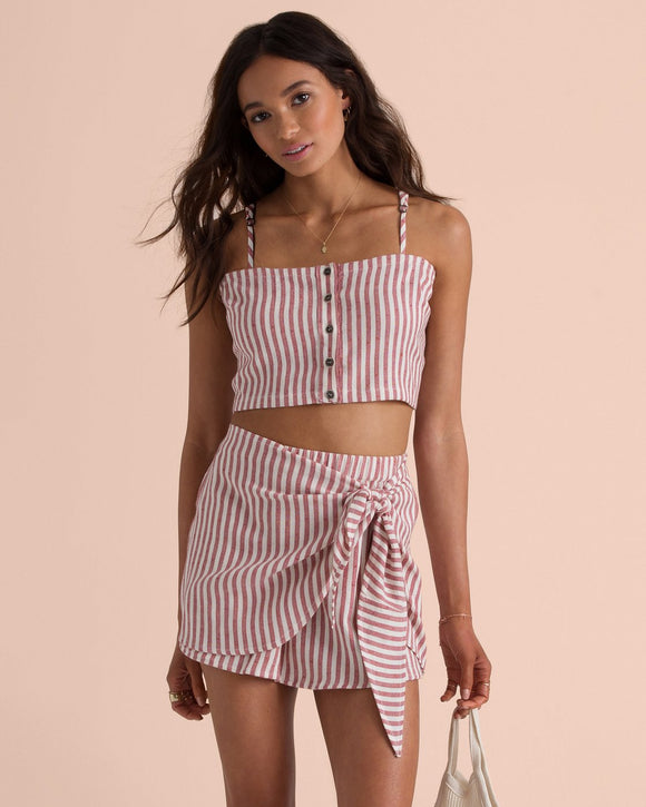 BILLABONG STRAIGHT TO IT CROP TOP