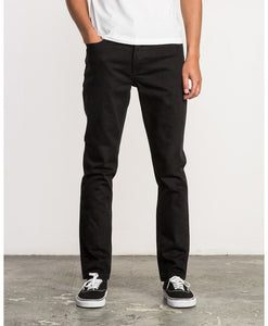 RVCA HEXED SLIM FIT DENIM JEANS