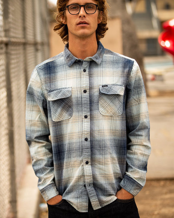 RVCA MUIR PLAID FLANNEL