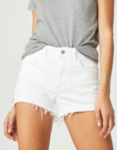 MAVI ROSIE WHITE RIPPED SHORTS