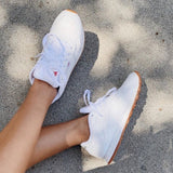 REEBOK CLASSIC LEATHER WOMES SHOE WHITE/GUM