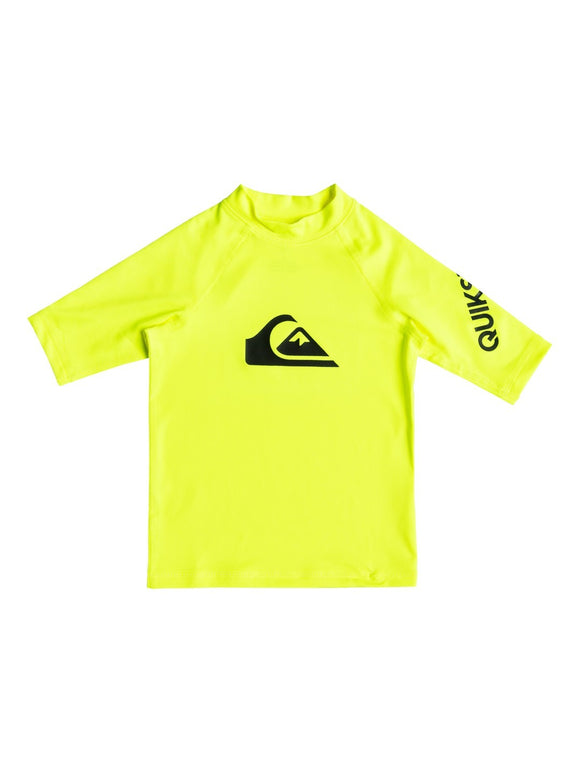 QUIKSILVER BOYS ALL TIME SS RASHGUARD