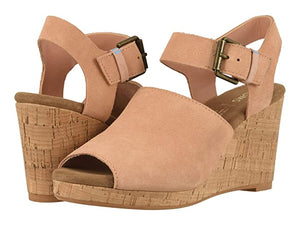 TOMS TROPEZ SUEDE WEDGE