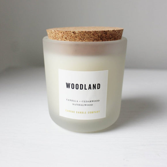 CANVAS CANDLE CO. SIGNATURE WOODLAND CANDLE