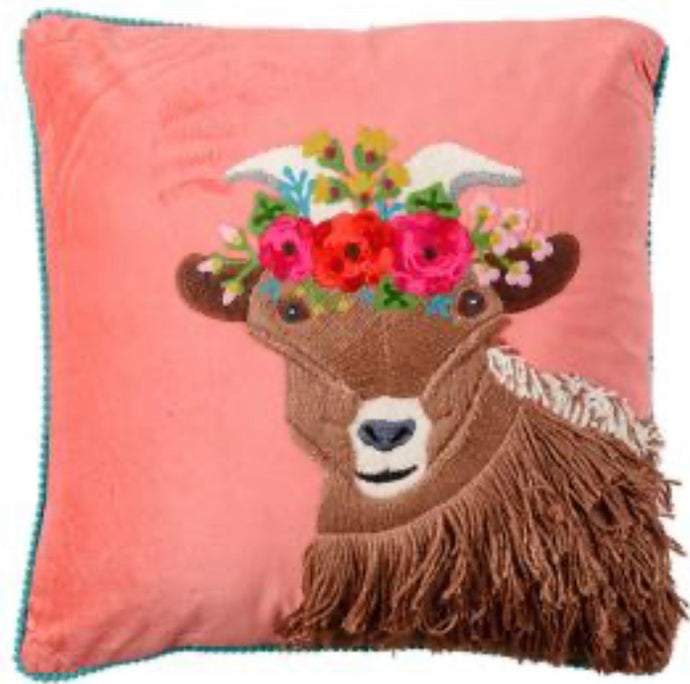 Goat Velvet Cushion