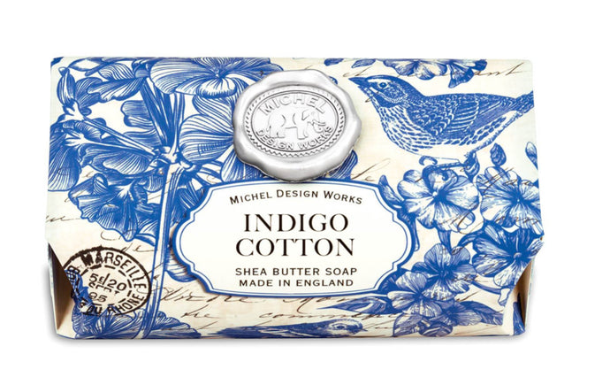 Indigo Cotton Soap Bar