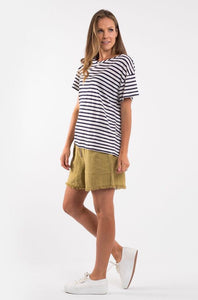 Elm Cove Striped tee