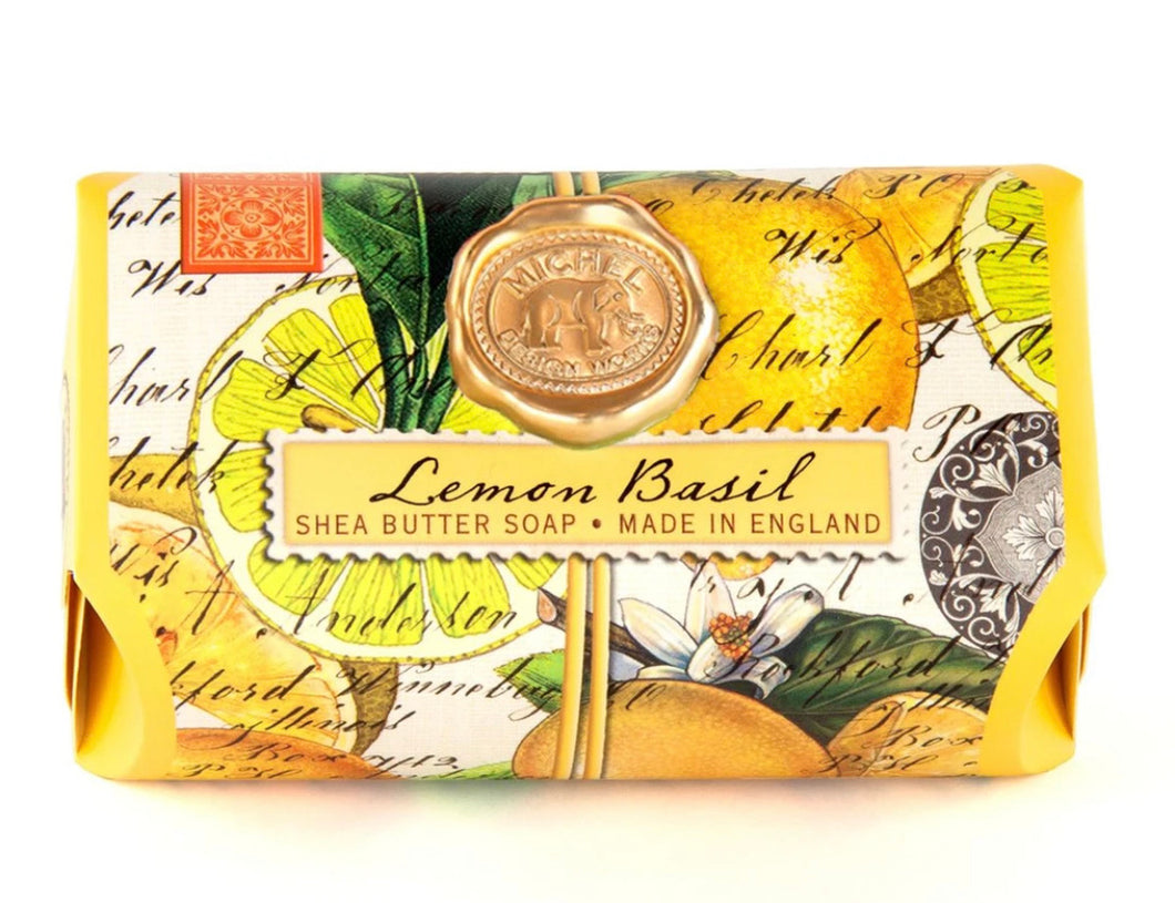 Lemon Basil Soap Bar