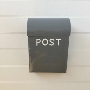 Post Box - Grey