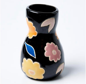 Saturday Vase Black