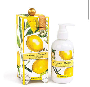 Lemon Basil Hand & Body Lotion