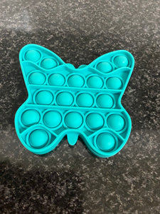 Pop It Fidget Blue Butterfly