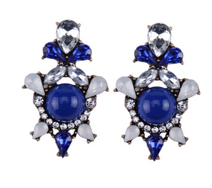 Blue Earrings 2