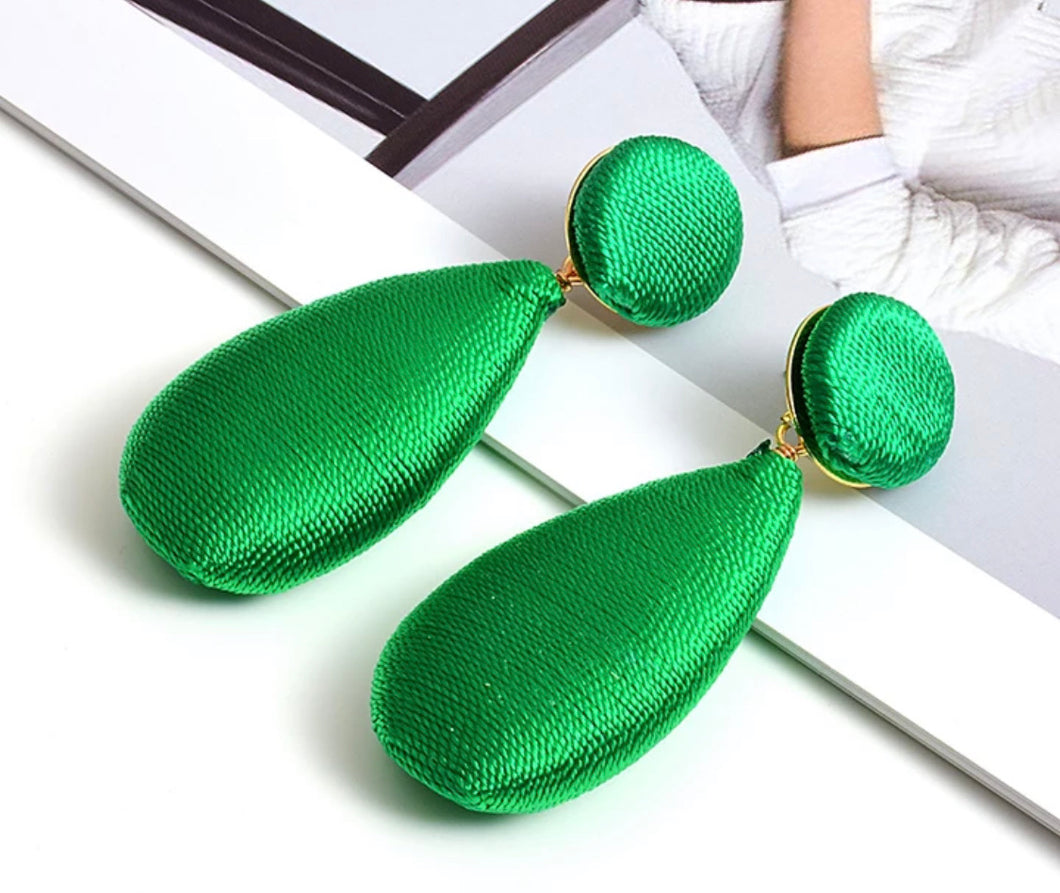 Green Earring
