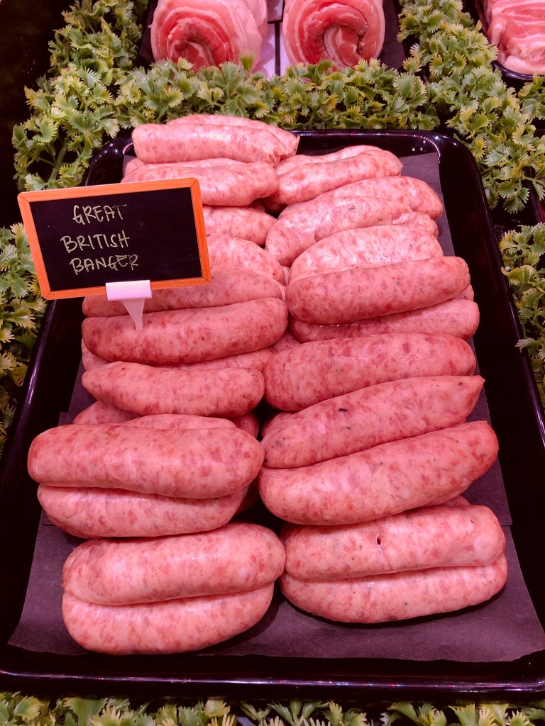 Outdoor Reared Suffolk Pork - Great British Bangers