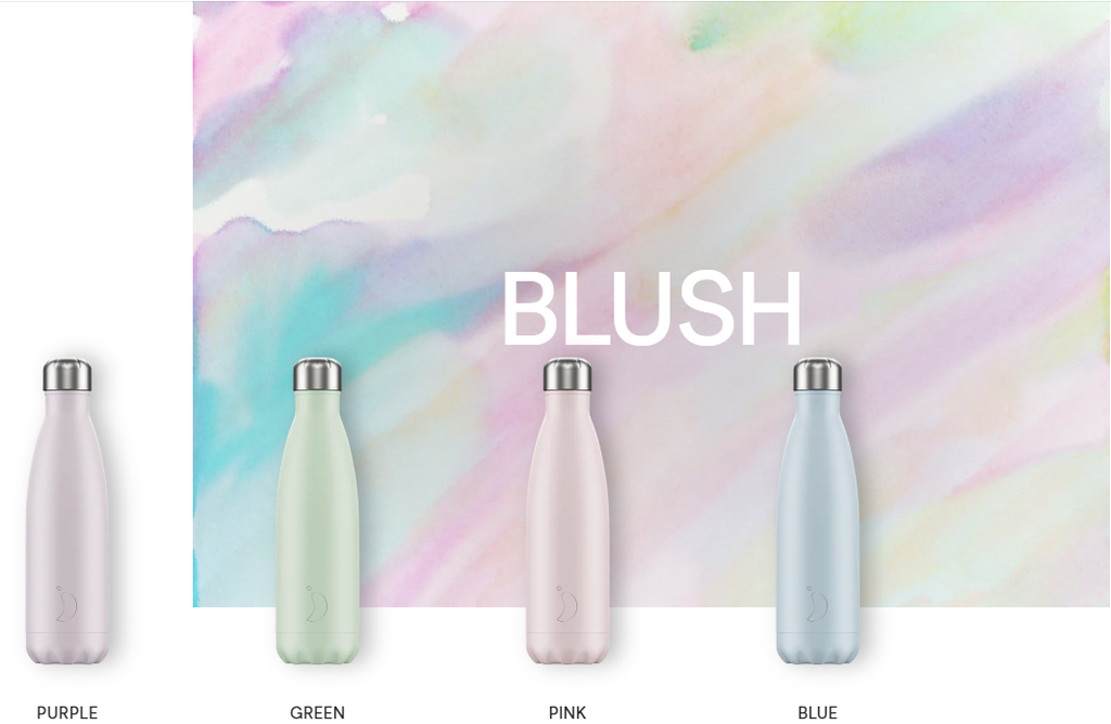 Blush Chilly's Bottles - Water Bottles