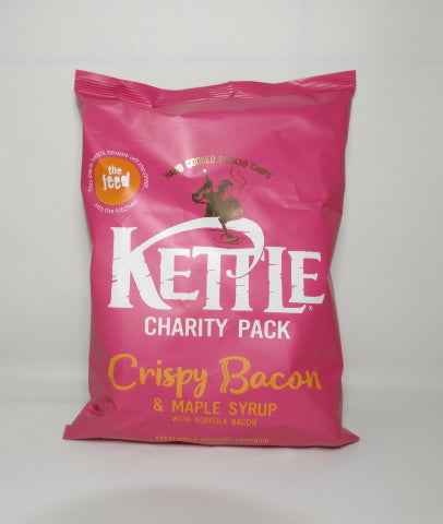 KETTLE CHIPS - CRISPY BACON & MAPLE SYRUP 150g