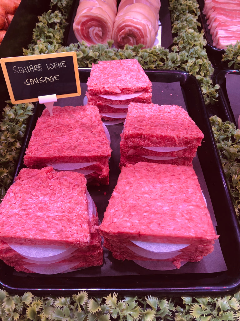 Outdoor Reared Suffolk Pork Lorne Square Sausage