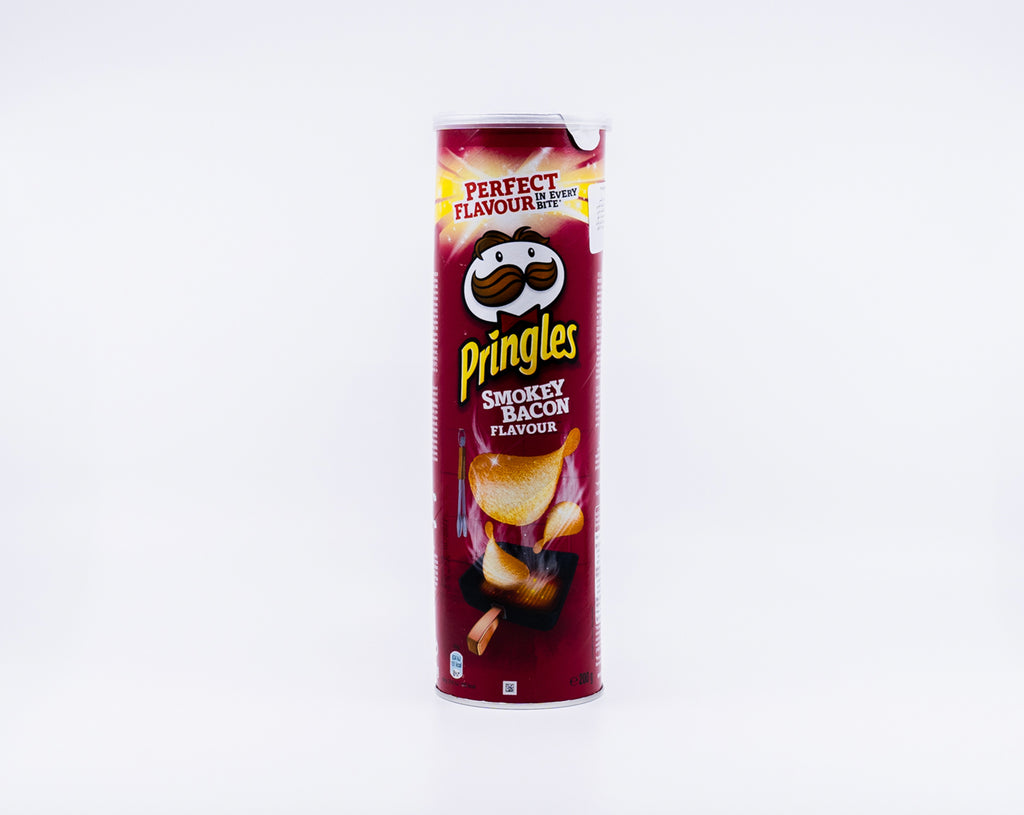 PRINGLES SMOKEY BACON 200g