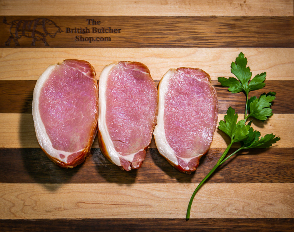 Suffolk Pork - Dry Cured Smoked Back Bacon