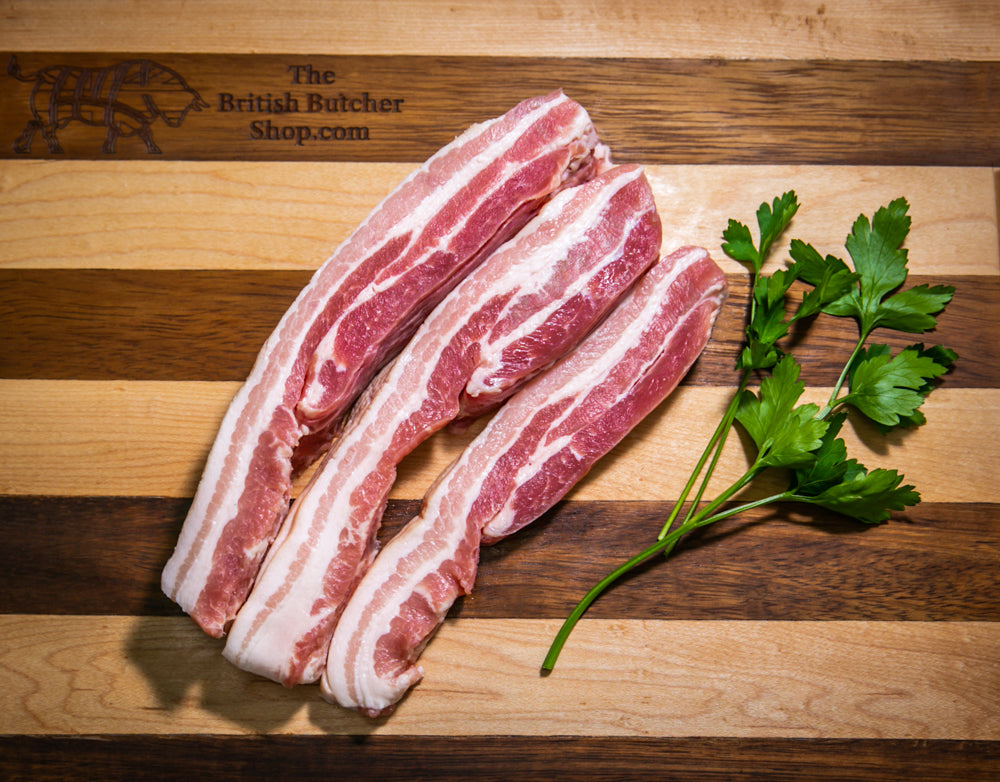 Suffolk Pork - Dry Cured Smoked Streaky Bacon
