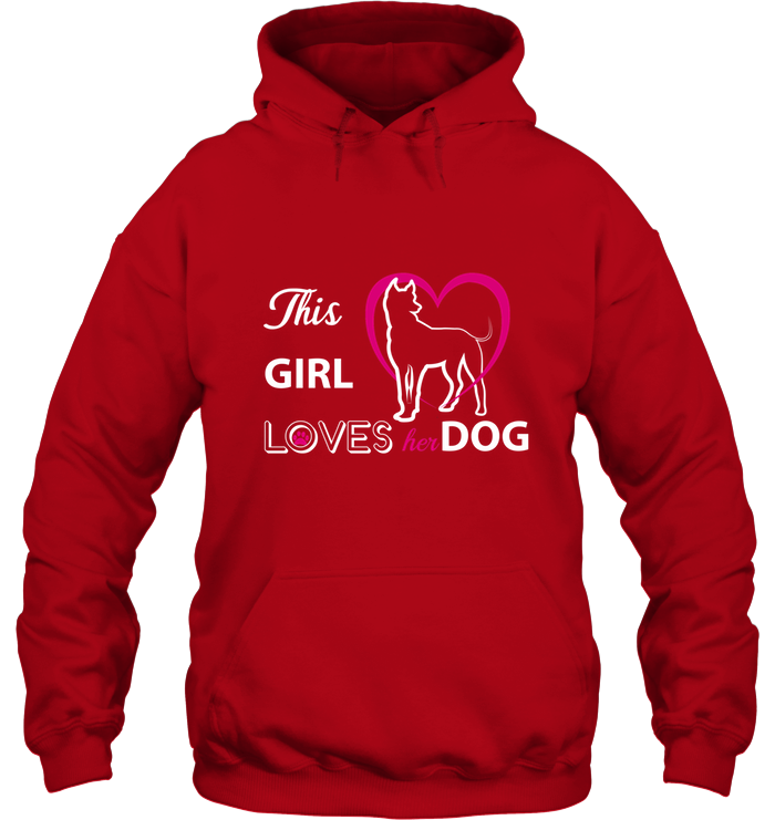 This Girl Loves Her Dog