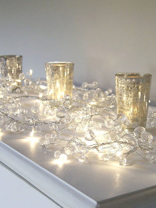 10pcs Crystal String Light
