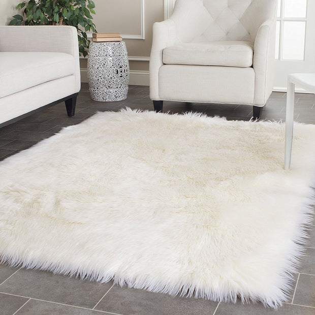 P&B Super Thick Faux Sheepskin Rug