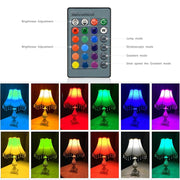 1Pcs Lovely 16 Colours Atmosphere LED Night Light