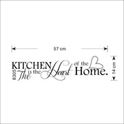 Kitchen Is Heart Of The Home Letter Pattern Wall Sticker