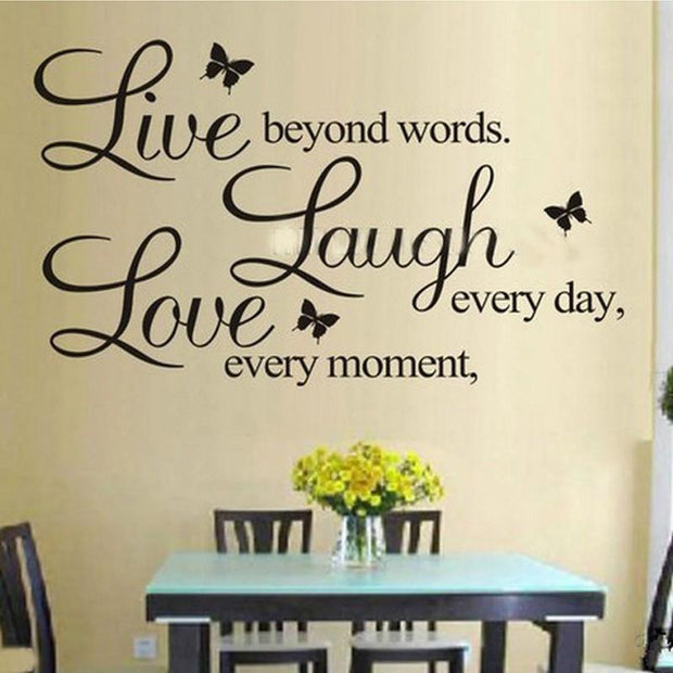Live Laugh Love Quotes Wall Art